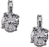 Anne Klein Sparkling Ears Cubic Zirconia Stud Clip-On Earrings