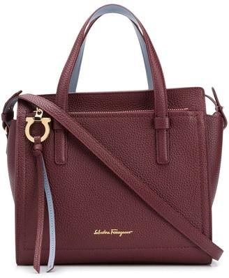 Salvatore Ferragamo Double Handle Tote Bag