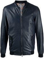 Daniele Alessandrini Zipped Leather Jacket