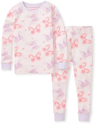 Burt's Bees Butterfly Buddies Snug Fit Organic Baby Pajamas