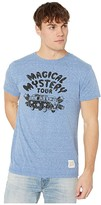 Original Retro Brand The Short Sleeve Vintage Tri-Blend Magical Mystery Tour (Streaky Royal) Men's Clothing