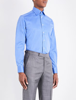 Eton Slim-fit cotton-twill shirt
