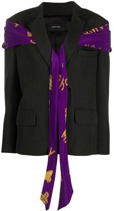 Simone Rocha Masculine Bow Jacket