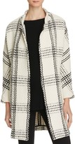 Suncoo Ewa Oversized Check Coat