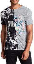 Eleven Paris ELEVENPARIS Nirvan Contrast Split T-Shirt