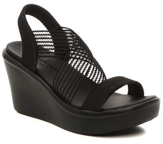 Skechers Rumble Up Cloud Chaser Wedge Sandal