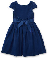Ralph Lauren 2-6X Corduroy Fit-And-Flare Dress