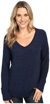Allen Allen Long Sleeve Sweater Vee