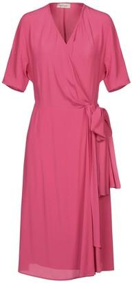 Gold Case Knee-length dresses - Item 34992819BO