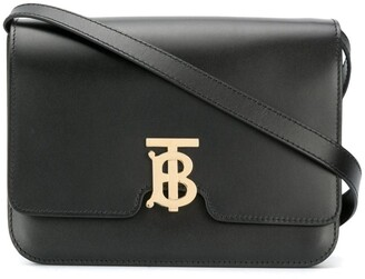 Burberry TB monogram shoulder bag