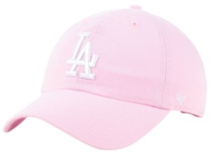 '47 Los Angeles Dodgers Pink Clean Up Cap