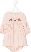 Stella McCartney Leonilla Swan Patch dress