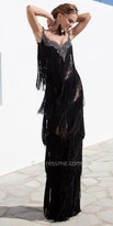 Tarik Ediz Caca Evening Dress