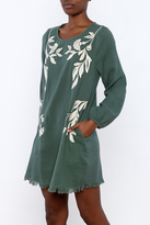 Entro Bohemian Jade Dress