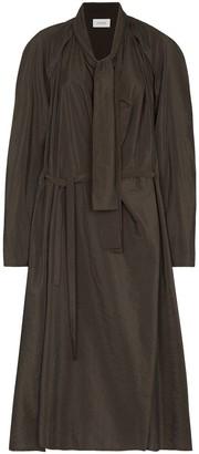 Lemaire Neck-Tie Midi Dress
