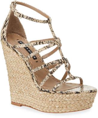 Alice + Olivia Talise Wedge Sandals
