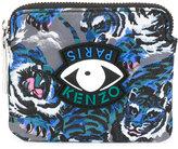 Kenzo multi icon zipped pouch