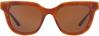 Dolce & Gabbana Eyewear Havana wayfarer sunglasses