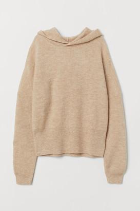 H&M Wool-blend Hoodie