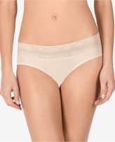 Natori Maternity Lace-Trim Bikini-Cut Briefs