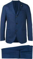 Lardini two piece suit - men - Cotton/Cupro/Viscose/Wool - 46