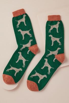 Catherine Tough Hound Socks
