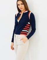 Karen Millen Sporty Stripe Cardigan