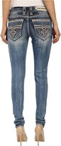 Rock Revival Women's Sun S202 Skinny Medium Jeans X 34
