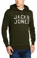 Jack and Jones Men's JORMULTI SWEAT MX Sweatshirt, Green (Rosin), X-Large