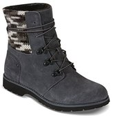 The North Face Women's Ballard Lace II MM Boot,Iron Gate Grey/TNF Black Multi Kn