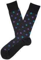 Perry Ellis Spring Bloom Geometric Dress Sock
