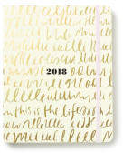 Kate Spade 2018 17 Month Diary, Large, This is the Life