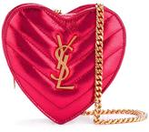 Saint Laurent mini 'Love' crossbody heart bag