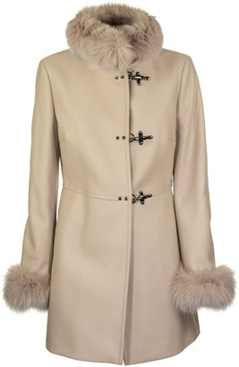 Fay Virginia Sand Fur Coats