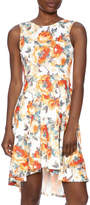 Auditions Floral High-Low Dress
