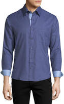 Neiman Marcus Slim-Fit Wear-It-Out Dress Shirt