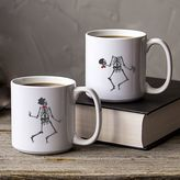 Cathy's Concepts Cathys concepts Dancing Skeletons Coffee Mug Set
