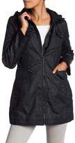 Laundry by Shelli Segal Hooded Rain Coat