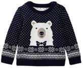 Joe Fresh Nordic Animal Sweater (Baby Boys 3-24M)