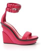 Alexander McQueen Platform Wedge Sandals