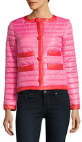 Kate Spade Contrast-Trimmed Packable Quilted Jacket
