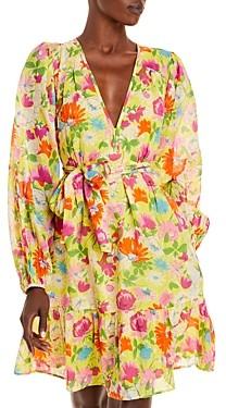 Banjanan Peony Floral Print Dress