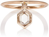 Diamond Foundry XO Barneys New York Women's Eva Fehren Hero Charm Ring-PINK