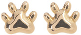 Candela 14K Yellow Gold Bear Paw Stud Earrings