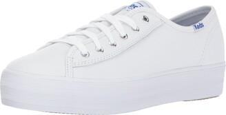 Keds Women's TRIPLE KICK LEATHER Sneaker