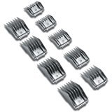Andis 9 piece Comb Set for Detachable Blade Clippers