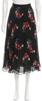 Tanya Taylor Printed Silk Skirt w/ Tags
