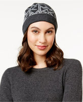 MICHAEL Michael Kors Metallic Logo Fold-Up Cuff Hat