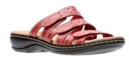 Clarks Collection Women's Leisa Cacti Q Flat Sandals Women's Shoes