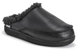 Muk Luks Men's Faux Leather Clog Slippers Men's Shoes